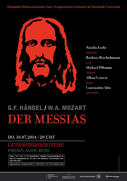 HU Berlin HPC-SOH 2014 MESSIAS Plakat